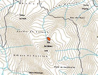 Cartografia de l'allau (Autor: Conselh Generau)