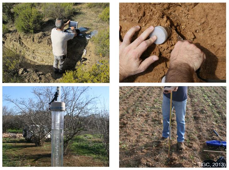 Tècniques de caracterització complementària de sòls.