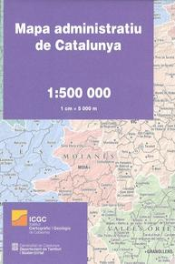 Mapa Administratiu de Catalunya
