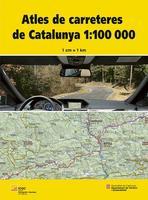 Portada de l'Atles de carreteres de Catalunya 1:100.000