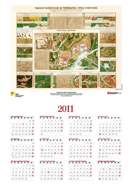 Calendario Icc.Calendarios Y Posters Institut Cartografic I Geologic De
