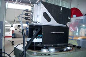 El sensor hiperespectral itres CASI-550.