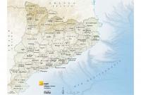Mapa comarques relleu
