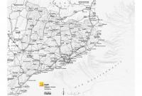 Mapa comunicacions gris