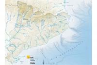 Mapa físic rius
