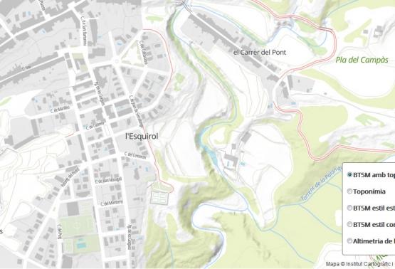 Tessel·les vector i estils per fer mapes lleugers i apps