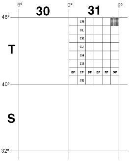 Quadrícula MGRS
